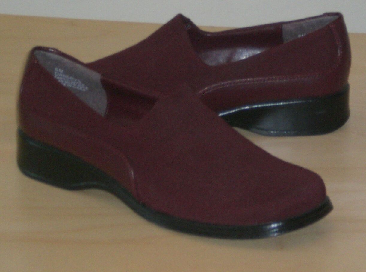 Easy Spirit Danleys loafer burgundy Med stretch 7.5 Med Med burgundy 7.5 NEW   307c45