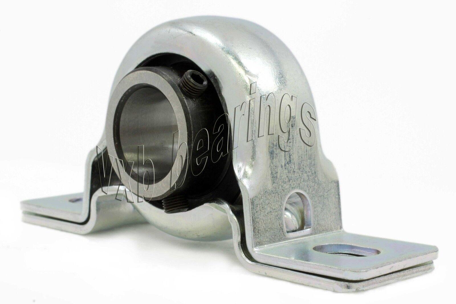"FYH Bearing SAPF206-18 1 1//8/"" Stamped steel round three bolt Flanged 11670"