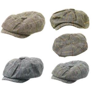 Fashion-Men-039-s-Cabbie-Newsboy-Cap-Men-Ivy-Hat-Golf-Driving-Beret-Summer-Sun-Flat
