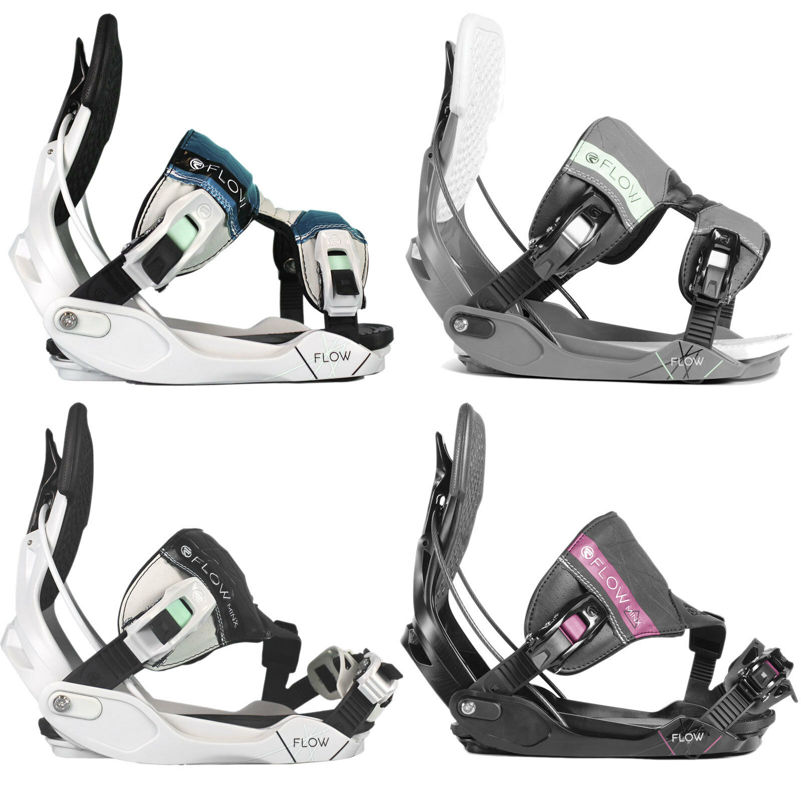 Flow Minx Womens Snowboard Binding Step-In Snowboard Binding 2018-2019 New