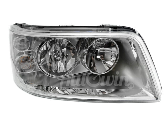 Halogen Headlight Set VW Transporter T5 09.03-12.08 H4 with Motor 1326712