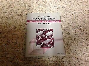 2007 Toyota FJ Cruiser Electrical Wiring Diagram Manual ...