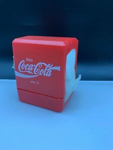 Coca-Cola-Napkin-Dispenser-5-1-2in-Never-Used-With-Boxed-Top-Condition
