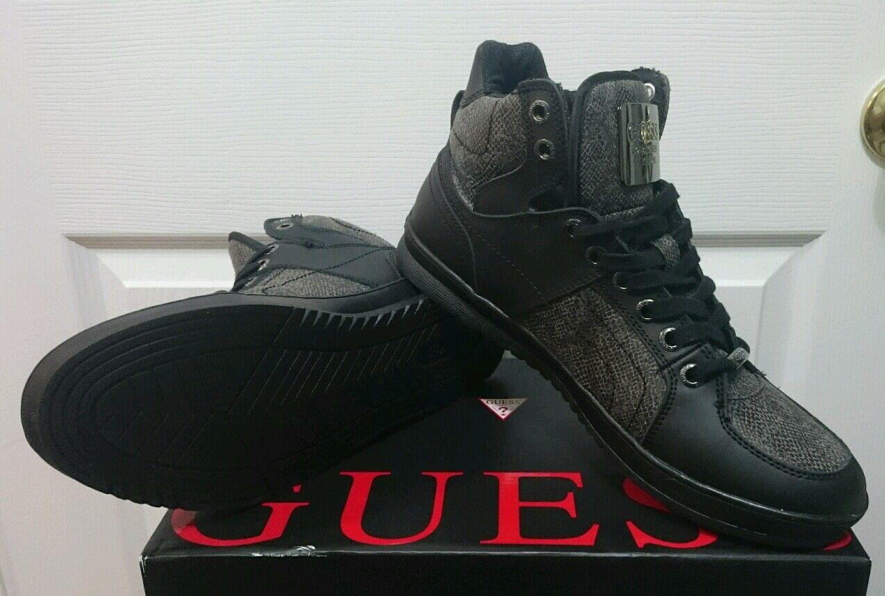 Guess Trippy 3 Leather/Textile Sneaker Shoe - Size 10.5 Scarpe classiche da uomo
