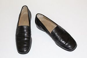R. Martegani Boutique Line 12 M Handmade Black All Leather Penny Loafer Italy