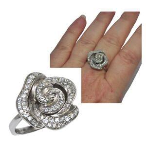 Bague-en-argent-massif-925-fleur-rose-zirconium-blanc-T-56-bijou