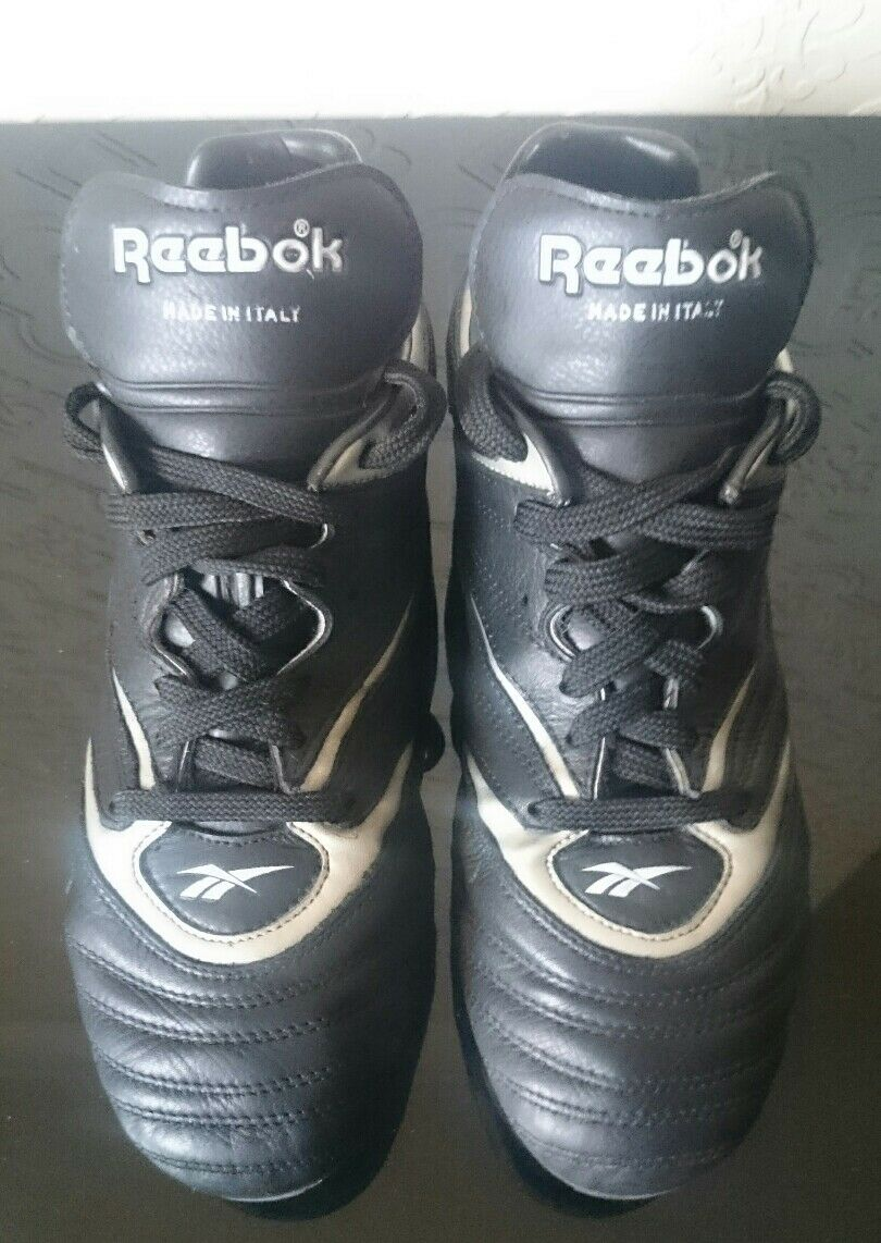 RARE REEBOK VINTAGE SIDEWINDER 8 FOOTBALL Stiefel 8 SIDEWINDER 1988 SAMPLE ONEOFF MADE ITALY d0278b