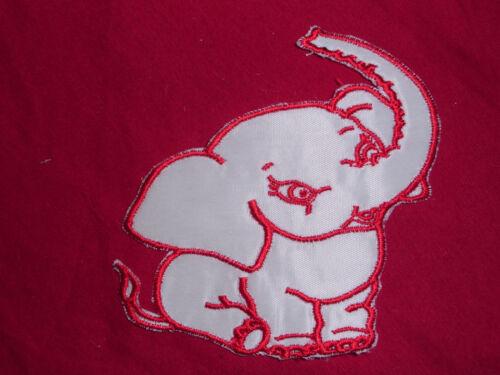Aufnäher Elefant Patches Baby Kinder Applikation Aufbügler Elephant Tiere animal