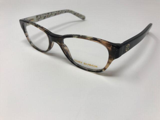 eca37529983a9 TORY BURCH Eyeglasses TY2031 3154 Yellow Tortoise Black Batik 49-17-135 DE01