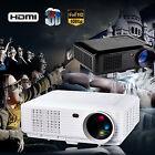 3500 Lumens LOT LED Projector Home Theater USB TV 3D HD 1080P Business VGA/HDMI