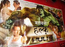 "THE INCREDIBLE HULK (2008) EDWARD NORTON GIANT SIX SHEET POSTER 52"" X 106"""