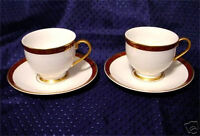 2 Hankook England Original Tech Cup & Saucer Sets