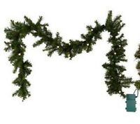Bethlehemlights Batteryoperated 6' Prelit Garland With Timer H167241
