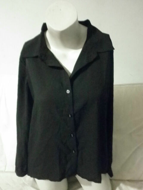 FACTORIE WILMA CUT OUT BACK SHIRT BNWT SZ S BLACK  FREE POST (E50)