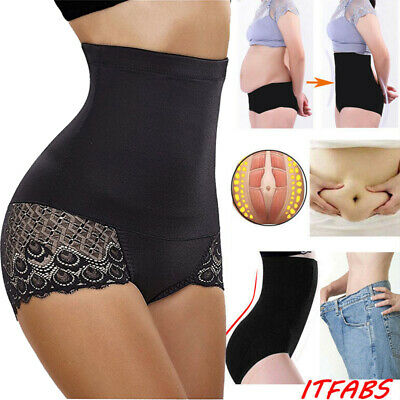 Womens High Waist Tummy Control Body Shaper Briefs Slimming Pants Underwear.UK