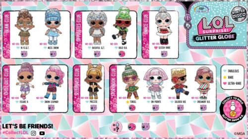 LOL Surprise Doll SOLDIER BOI Boy Baby Big Brother WINTER DISCO Glitter Dolls