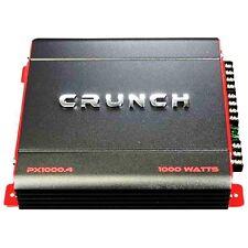 Crunch PX-1000.4 4-kanal 1000 Watt Amp Auto Stereo-verstärker+Verkabelung Set