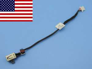 Original-DC-power-jack-charging-in-cable-harness-for-Dell-XPS-13-9333-13-9333