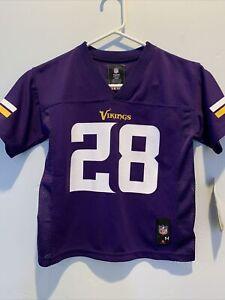 Minnesota Vikings Adrian Peterson NFL Kids Jersey Sz Medium 5/6 ...