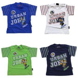 Garcons-T-Shirt-a-Manches-Courtes-Ete-Shirt-Enfants-Impression-Amusement-Motif