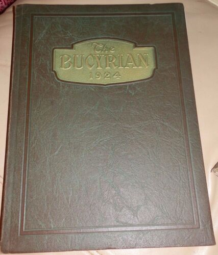 1924 Bucyrian HIGH SCHOOL Bucyrus OH YEARBOOK Annual Crawford County