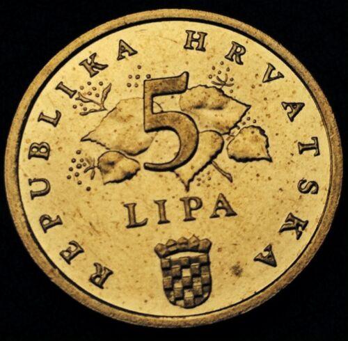 CROATIA CROAZIA HRVATSKA COINS 2014-5 LIPA 2014 NEW ! Uncirculated