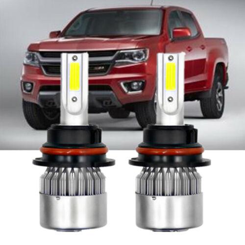 Combo 9007 LED Headlight Bulbs Kit for Jeep Liberty 2002-2007 HI-LO Beam Bulbs