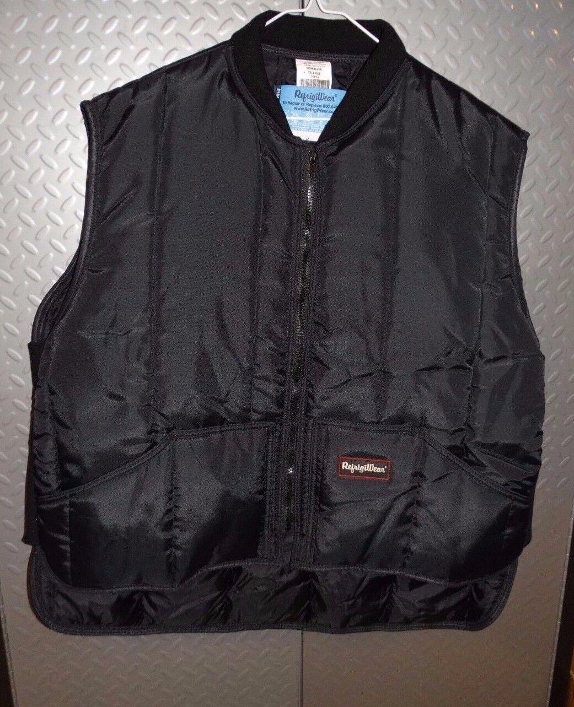 18245 Mens RefrigiWear Extreme Cold Insulated Puffer Vest  3XL XXXL  Big & tall