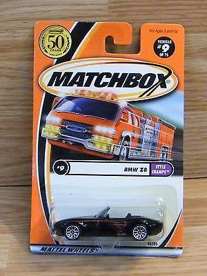 MATCHBOX BMW z8//serie Style Champs #9 USA 2002 95205