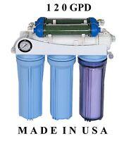 Aquarium Reef KoolerMax REVERSE OSMOSIS RO DI WATER FILTER SYSTEM USA MADE AR122