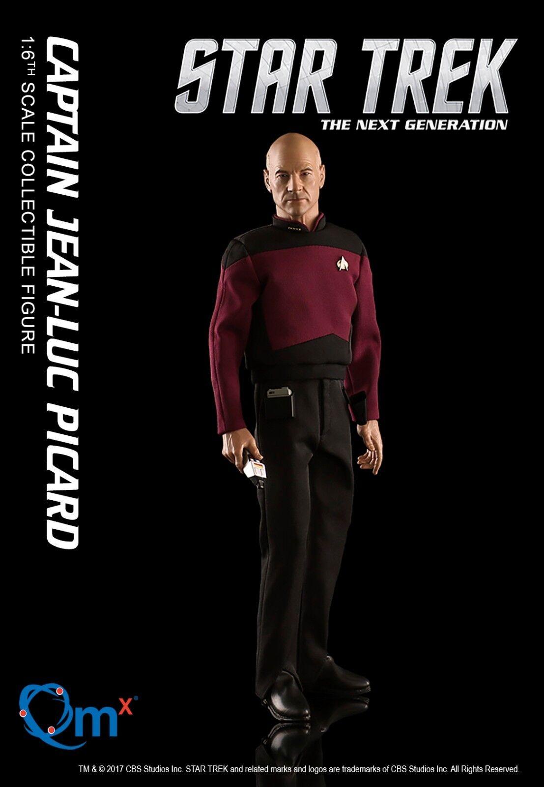 Quantum Mechanix Star Star Star Trek PICARD TNG 1/6 Scale Articulated Figure QMx 6407dc