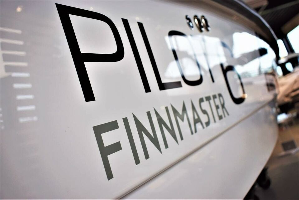 Finnmaster P6 m/115 HK Yamaha/udstyr, Motorbåd, årg. 2021