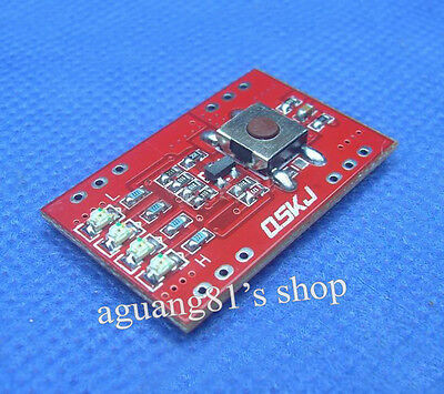 8A Li-ion Lithium Charger Battery Protection Board LED Capacity Indicator 18650
