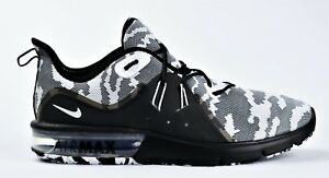 7ab58bdea14 NEW NIKE AIR MAX SEQUENT 3 PREMIUM CAMO MEN S RUNNING SHOES BLACK ...