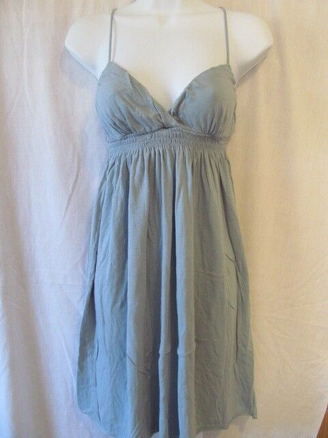 New James Perse bluee Stretch Vintage Wear Dress Size 2 Small