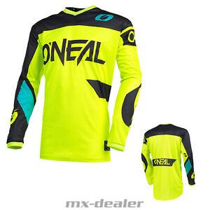 2021 O/'Neal Matrix Ridewear Schwarz Jersey Trikot MX Motocross MTB Enduro BMX