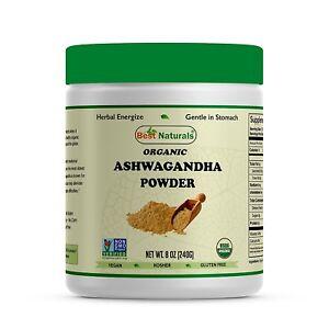 Best-Naturals-USDA-Certified-Organic-Ashwagandha-Powder-8-OZ-240-Gram