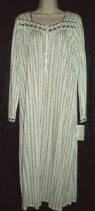 avorio West L in Eileen collo cotone S blk con lungo classico vestitino Nwt M tattile modale f4p7w5xxn