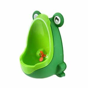 1X-Amusant-Pot-Enfant-Bebe-urinoir-en-forme-de-Grenouille-Vert-D6P1