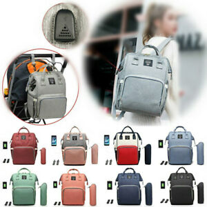 Baby Designer Large Diaper Nappy Changing Bag Backpack Hospital Maternity Baby Travel