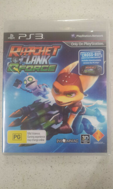 Ratchet & Clank Q-Force PS3 (New and Sealed)