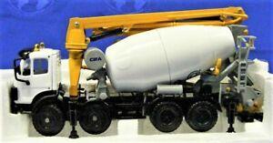 Norscot-22502-CIFA-Magnum-Metro-Concrete-Mixer-and-Pump-1-47-Die-cast-MIB