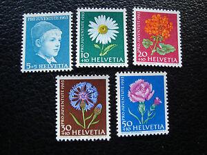 Switzerland-Stamp-Yvert-and-Tellier-N-721-A-725-N-A19-Stamp-Switzerland