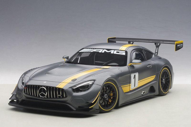 bilkonst MERCEDES BENZ AMG GT3 PRESENTATION bil GREE 1 18 Nytt objekt