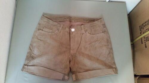 Nyc shorts scamosciata con polsini pelle in Nuovi ASdWYqO1O