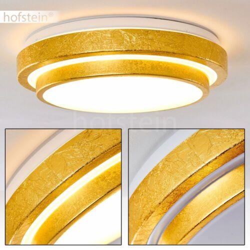 LED Deckenleuchte Sora Badezimmer Dusche Wohn Zimmer Flur Diele Waschraum Gold