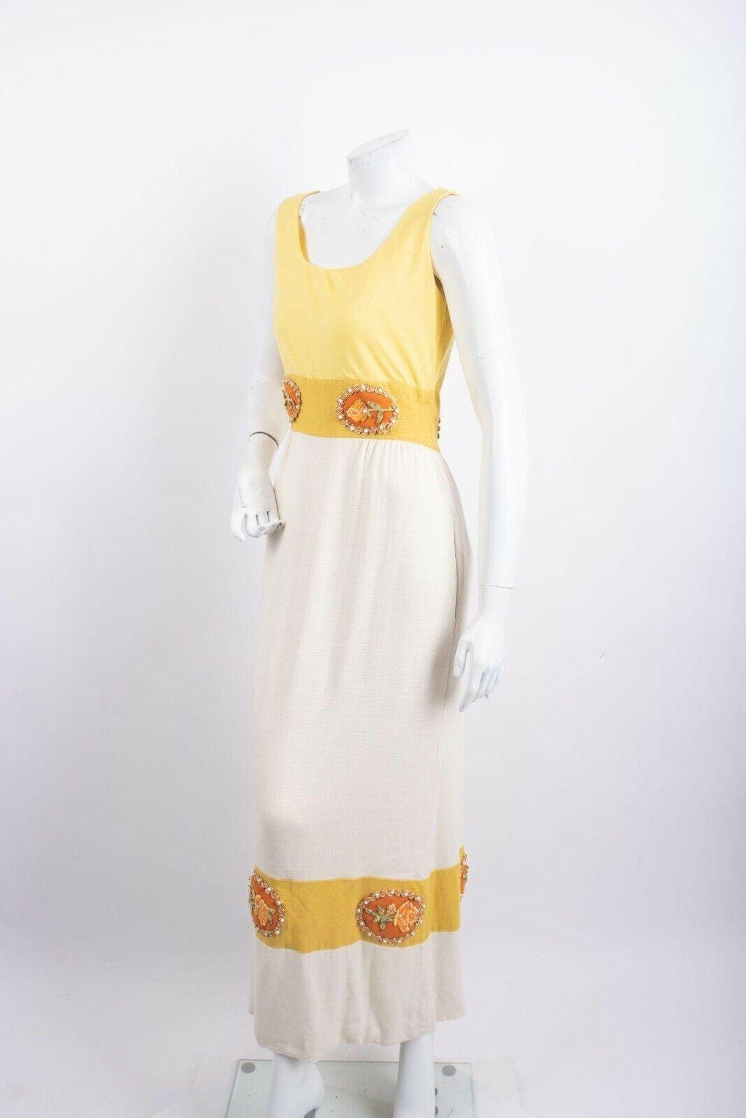 1970's Alice John Rogers Maxi Dress Women's XS/S … - image 6