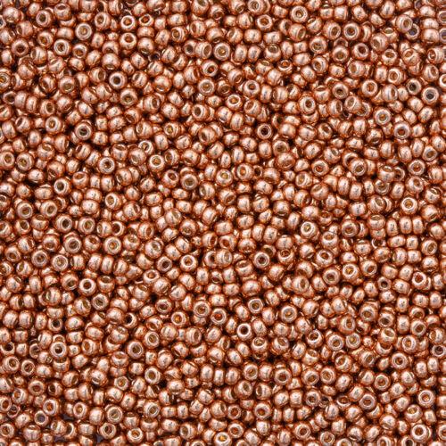 Miyuki 11//0 Perles de rocaille 11-4222 DURACOAT Galvanisé Muscat 24 g M102//7