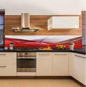 k chenr ckwand spritzschutz k che geh rtetes glas abstrakt. Black Bedroom Furniture Sets. Home Design Ideas