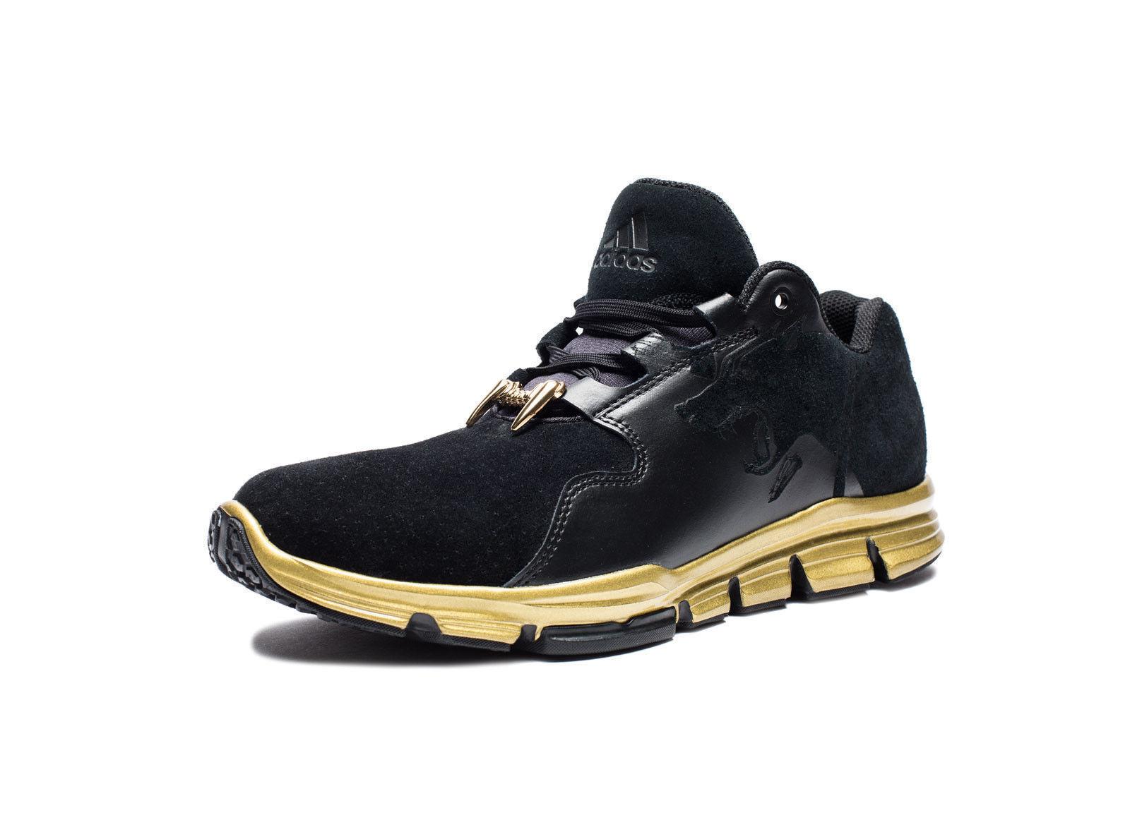 Nuove adidas x snoop 45 dogg uomini  partita scarpe sz 11 45 snoop di scarpe nere e scarpe da ginnastica cane e201d6